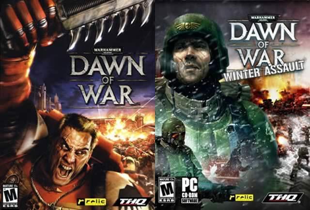 《战锤40K:战争黎明+冬季攻势》游戏封面