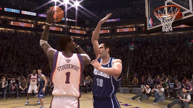 NBA LIVE 08游戏截图