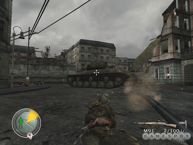 《狙击精英:柏林1945》游戏截图