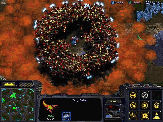 《星际争霸》游戏截图