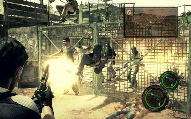《生化危机5》游戏截图