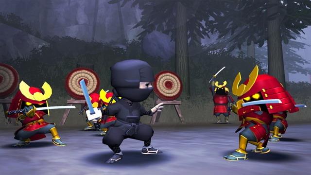 《迷你忍者》游戏截图