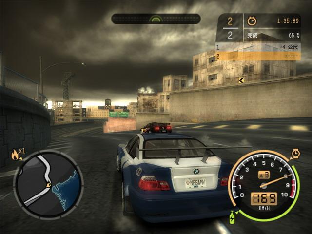 《极品飞车9黑名单》游戏截图
