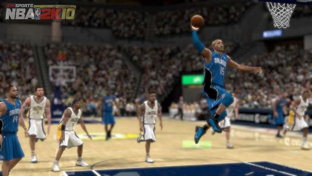 《NBA 2K10》游戏截图