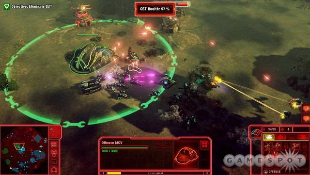 《命令与征服4:泰伯利亚的黄昏》游戏截图