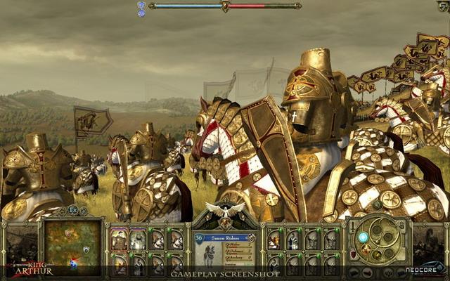 《亚瑟王》游戏截图
